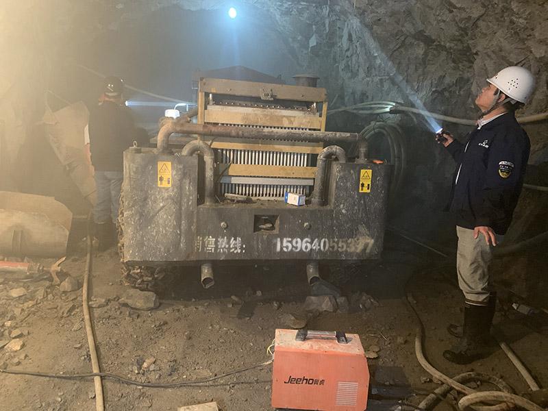 左权县鑫瑞冶金矿山有限公司一矿东矿带系统