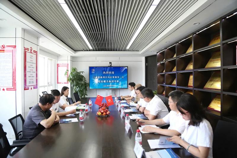 川藏鐵路項目劉總等領導一行蒞臨秋霞影院集團考察