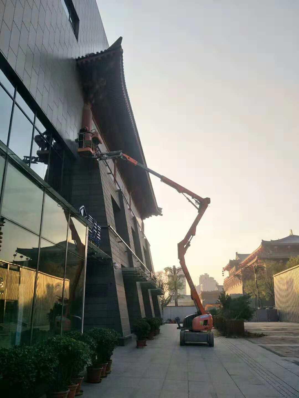 20米曲臂大唐不夜城使用