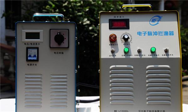 汉中分体式电子脉冲拦渔机