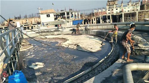 民权县的商丘污水处理工程的应用