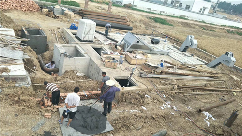 商丘污水处理工程案例的应用