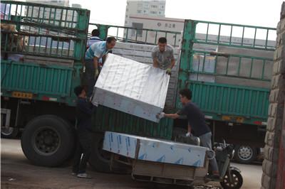 郑州信报箱运输现场