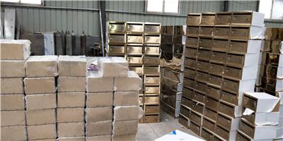郑州不锈钢信报箱厂房风貌
