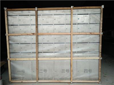 郑州不锈钢信报箱运输现场