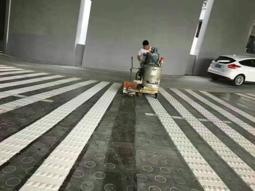 交苑驾校内道路四川标志标线施工工程