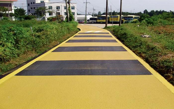 大家所说的彩色防滑路面胶黏剂到底是什么