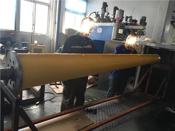 MDI三组份弹性体胶辊生产厂区