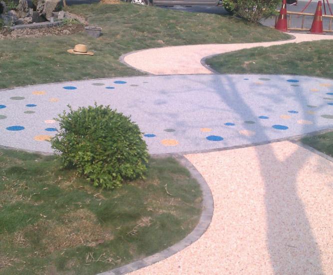 城市绿道、防滑坡道应用