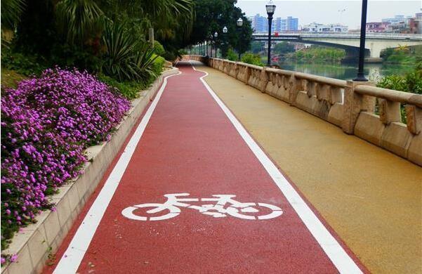 高低温情况下彩色路面粘合剂的作用怎么样?