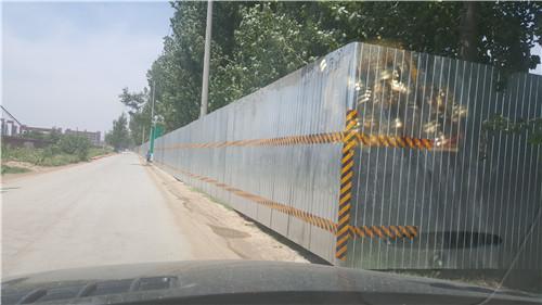 施工围挡-郑州高新区石佛村安置区施工围挡