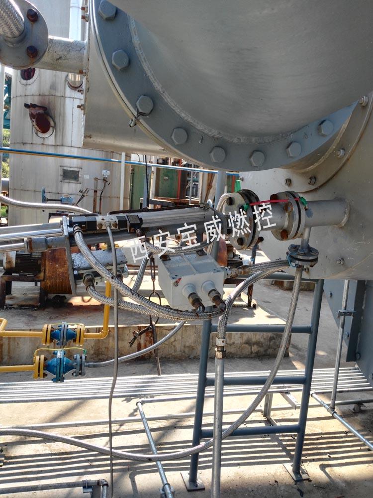 福建氯堿工業尾氣余熱鍋爐改造