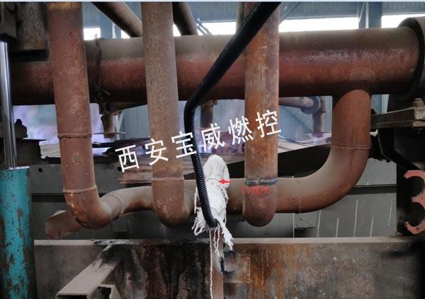钢铁厂熄火保护报警控制装置