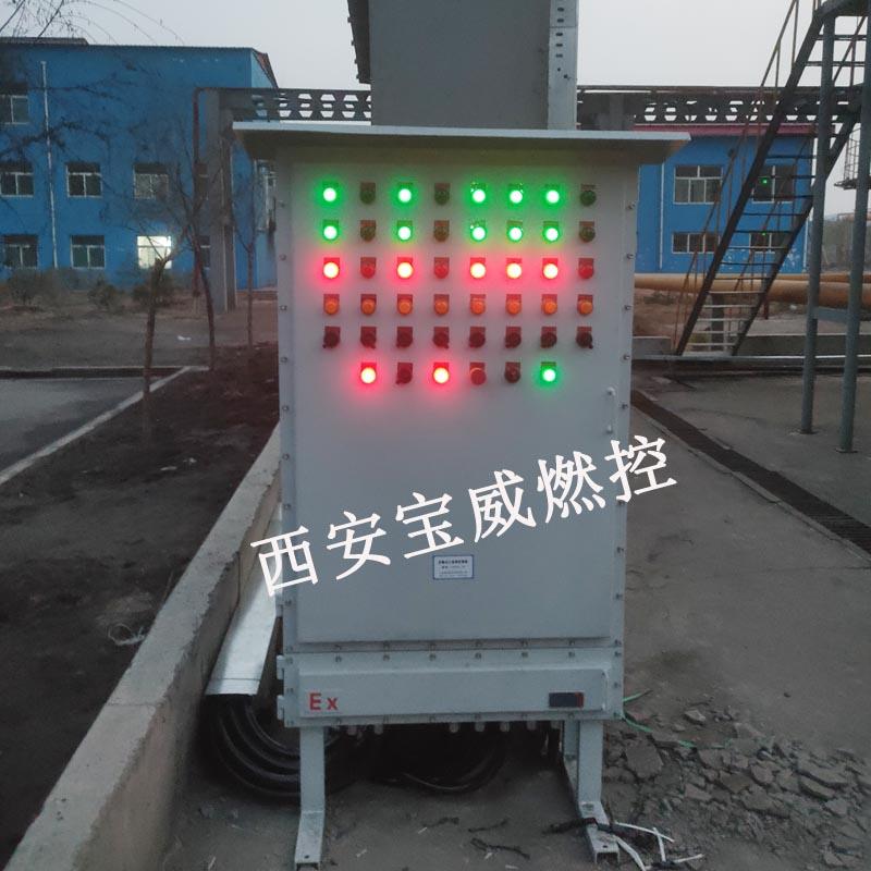 焦化厂加热炉防爆点火检测控制系统