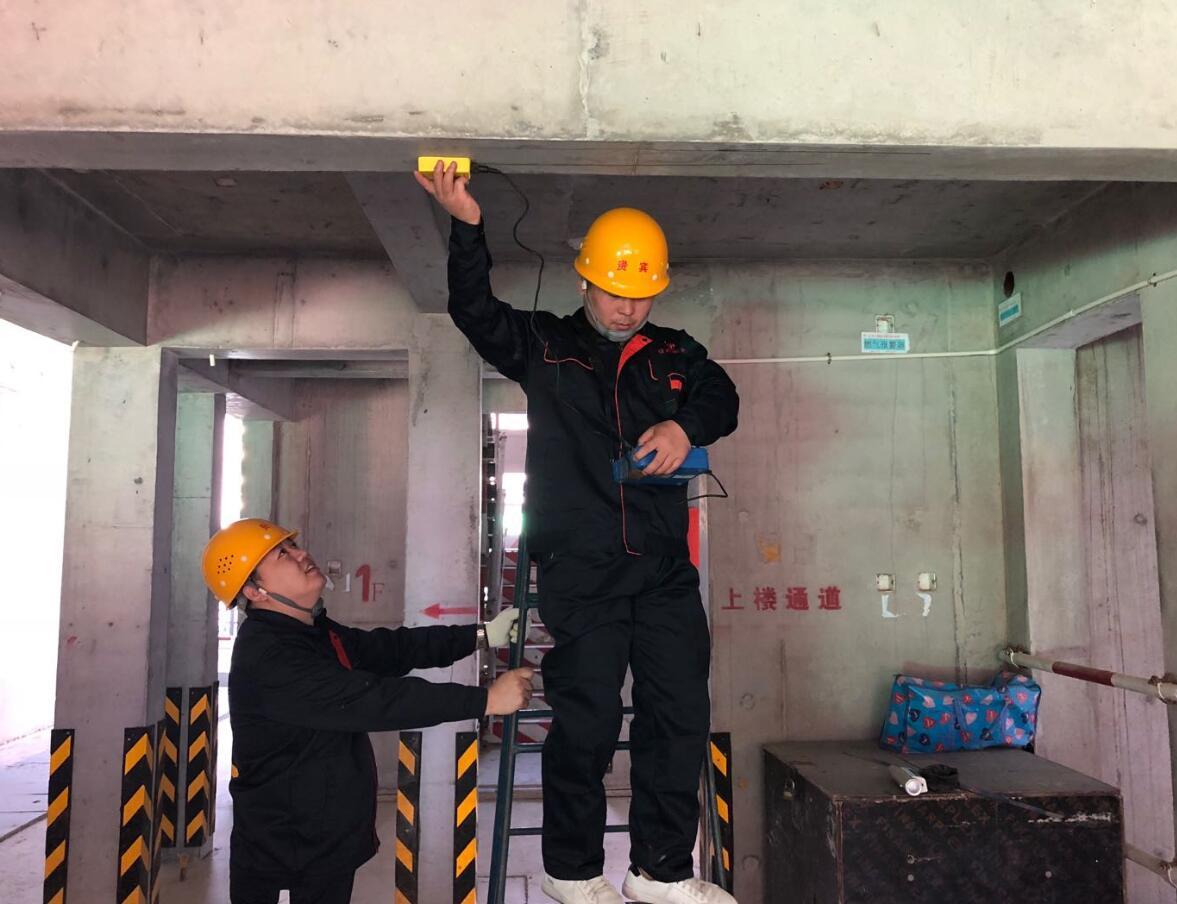 混凝土加固结构强度检测