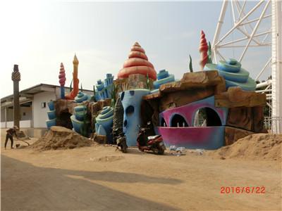 西安市浐灞生态区思畅装饰工程部-汉中尤曼吉造景工程