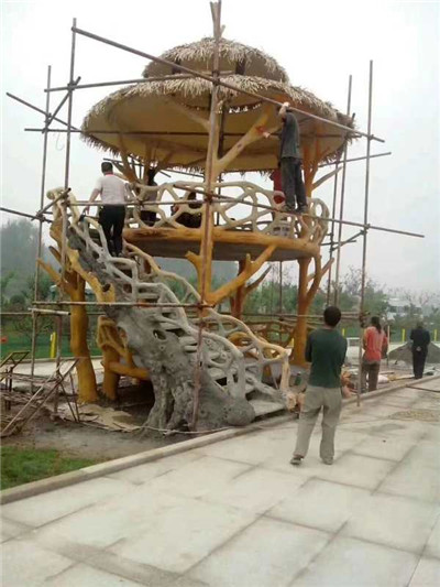 西安水泥仿木厂家