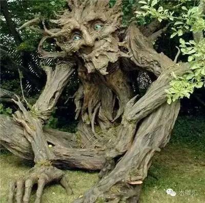 水泥假树仿木