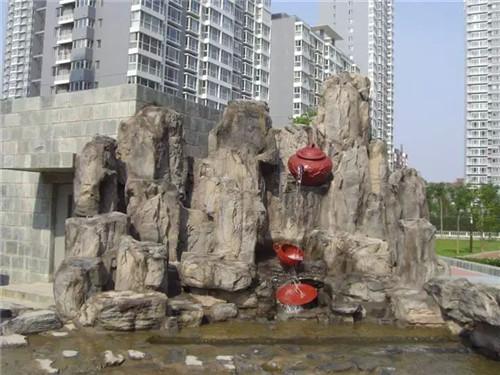 西安市浐灞生态区思畅装饰工程部-水泥假山塑石