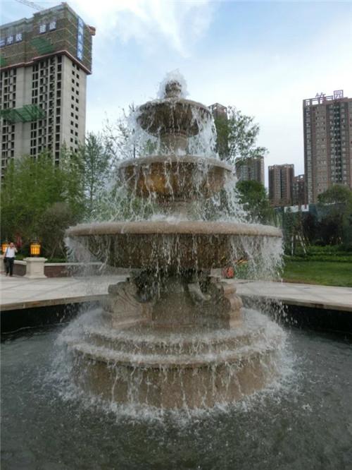 西安市浐灞生态区思畅装饰工程部-喷泉造型