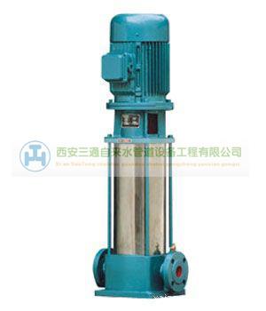 陕西天然气管道工程—立式生活水泵离心泵