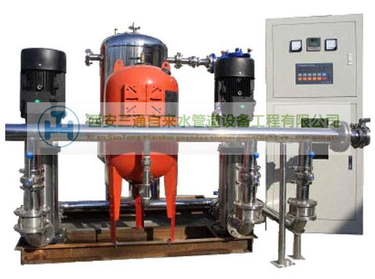 陕西自来水管道工程—高智能变频调速给水设备