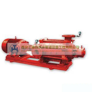 陕西天然气管道工程—XBD-L型给水泵