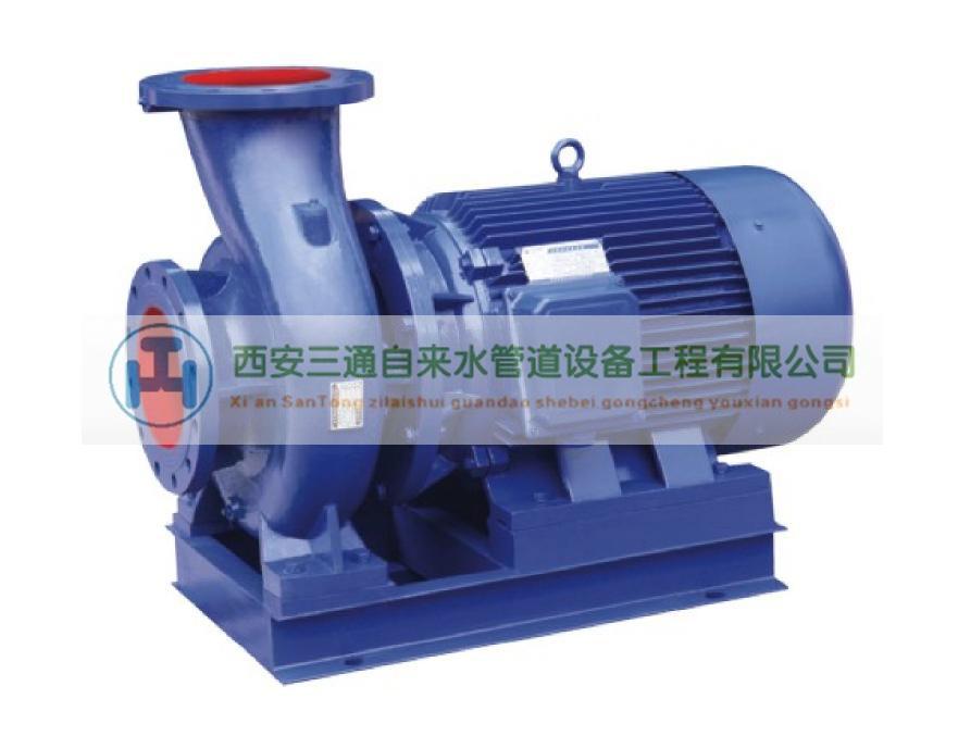 天然气管道工程—ISW单级离心泵