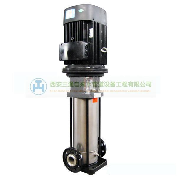 陕西天然气管道工程—多级不锈钢水泵