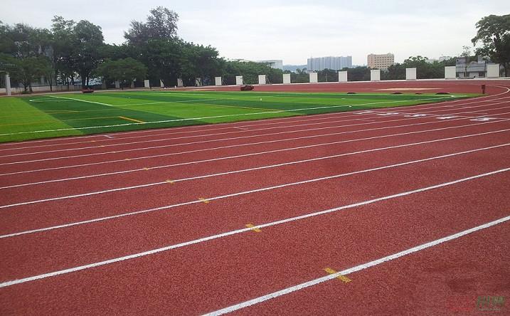 四川全塑型塑膠跑道