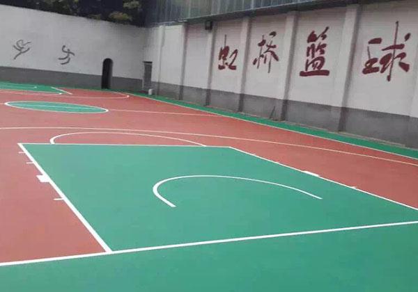 详谈四川硅PU球场材料的优越耐磨性能