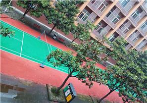 成都市温江区中学高中部球场翻新工程