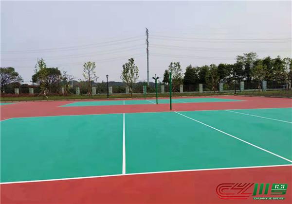 成都师范学院8000方硅PU球场