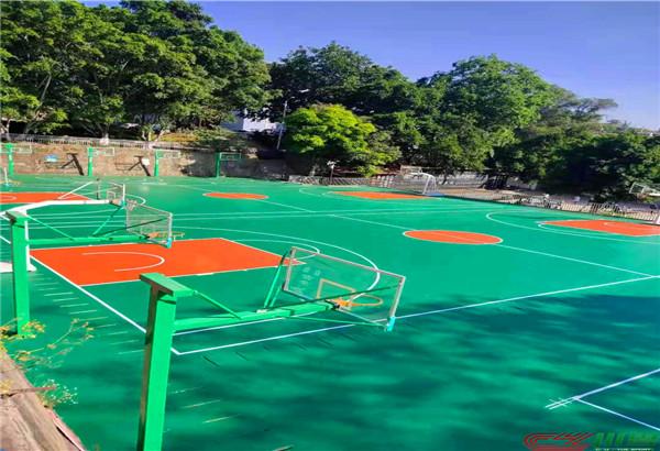 攀枝花米易县第二初级中学硅PU球场、塑胶跑道等运动场地项目
