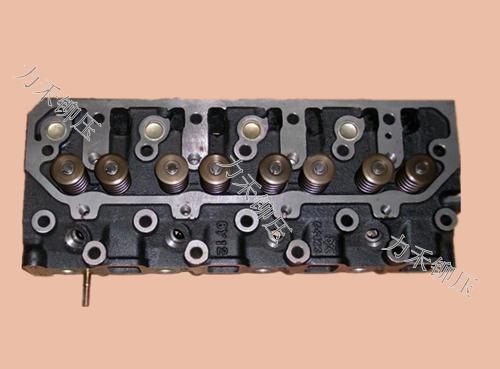 汽车发动机缸盖铆接样件
