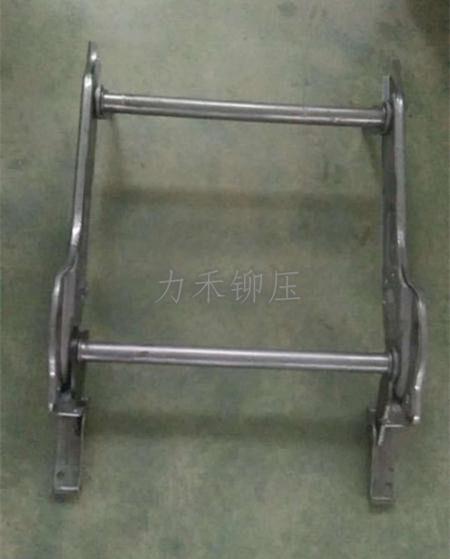 汽车座椅支架铆接样件