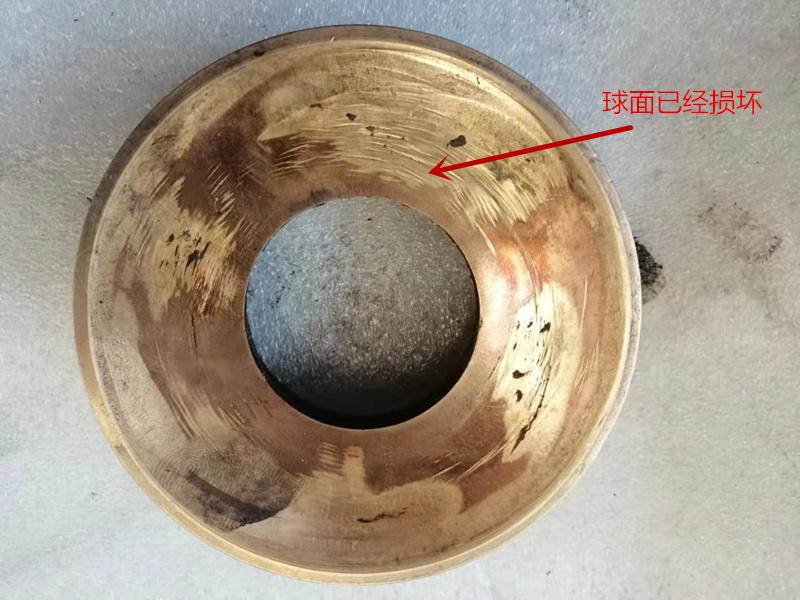 铆接机配件铜碗