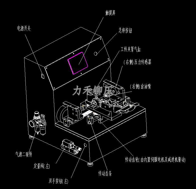 武汉力禾铆压定制设备