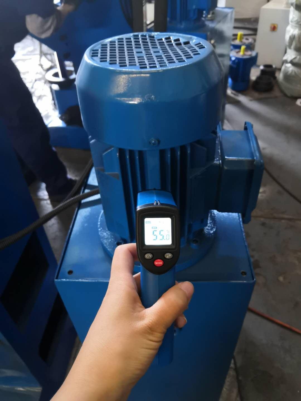 铆接机油泵电机温度检测