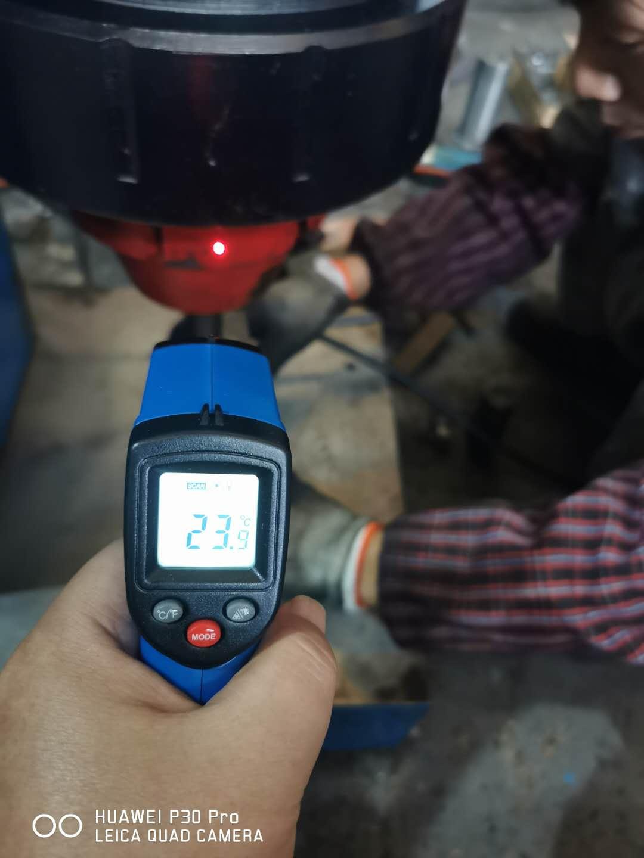 铆接机测温