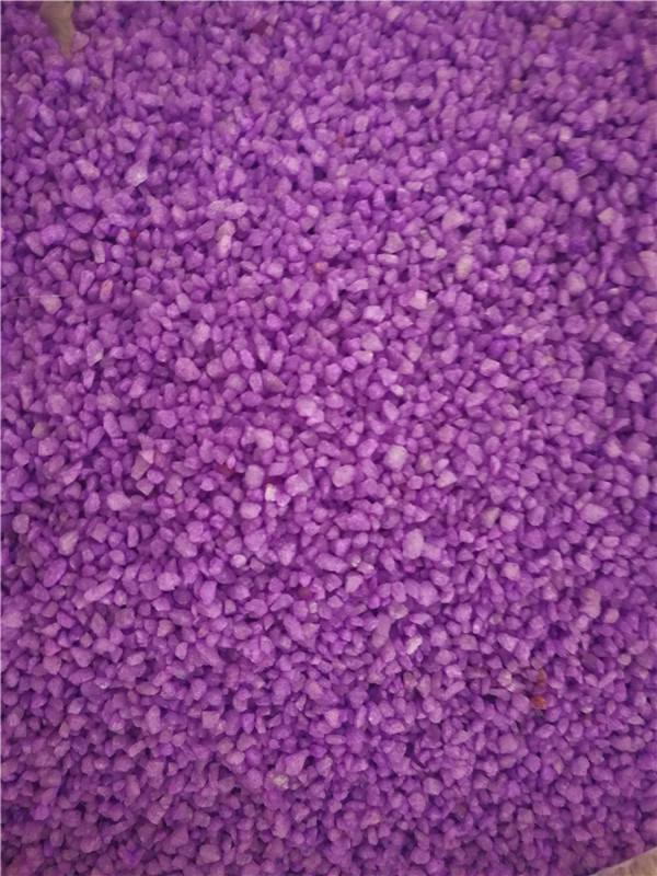 紫色陶瓷颗粒