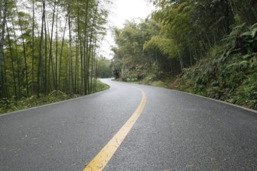 成都瀝青道路