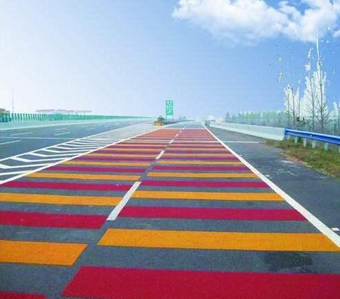 成都彩色陶瓷防滑路面的优势与应用