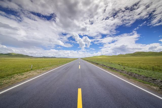 成都沥青道路