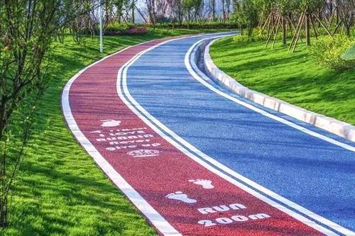 四川彩色沥青路面