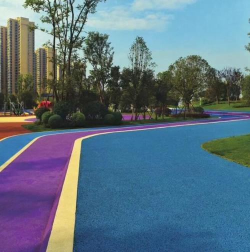 成都市彩色陶瓷防滑路面工程