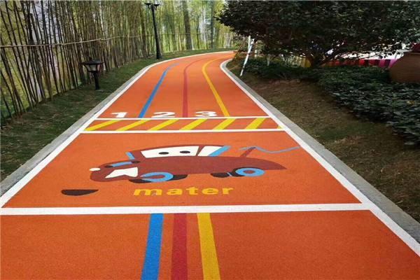 彩色沥青施工时颜色应考虑哪些因素?