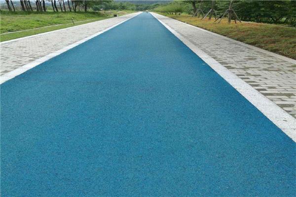 四川彩色沥青路面工程