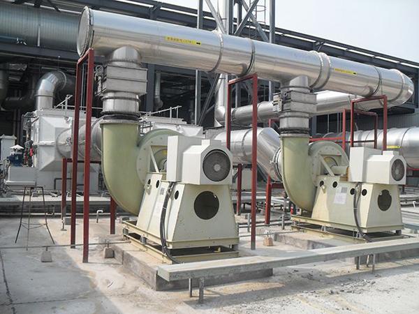 山东3c排烟风机工程案例
