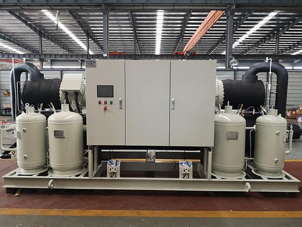蒸发冷式盐水机组发往江苏常州某上市化工企业